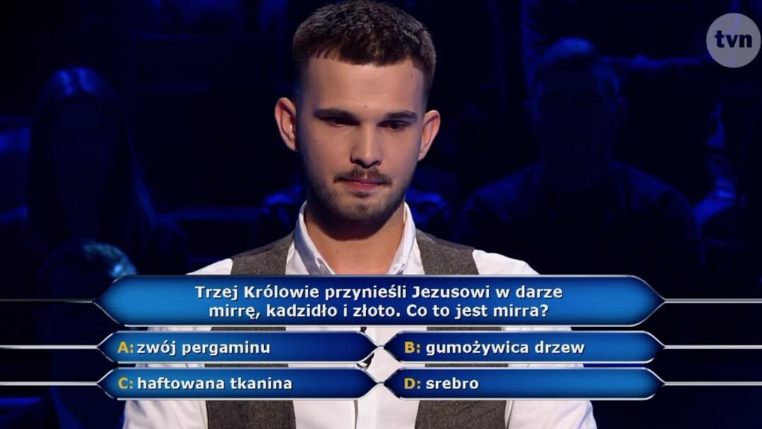 """Co to jest mirra? Pytanie z """"Milionerów"""" za 40 tysięcy złotych"""