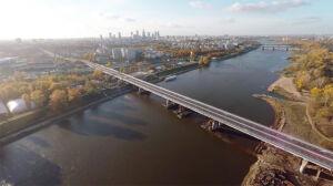 Policzyli samochody na mostach