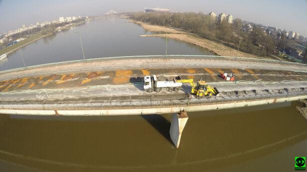 """""""Most Łazienkowski jest ubezpieczony racjonalnie"""" Kontakt24"""