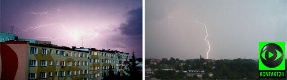 Silny front burzowy nad Polską