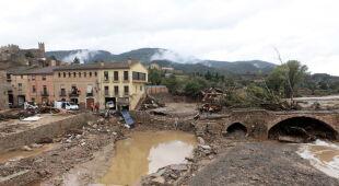Ulewy w Hiszpanii (PAP/EPA/JOSEP LLUIS SELLART)