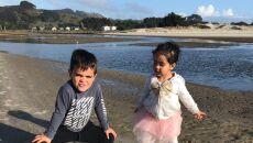 Meduza na plaży (autorzy: Eve i Adam Dickinson)