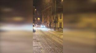 Śnieg sypnął także na północy Włoch