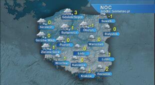 Prognoza pogody na noc 03/04.01