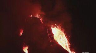 Z wulkanu Kilauea wciąż wypływa lawa